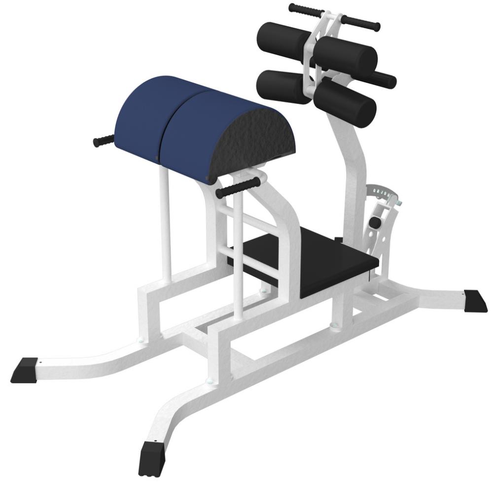 Тренажер для горизонтального разгибания спины с зажимами для ног (Гиперэкстензия  горизонтальная) ddf56265449